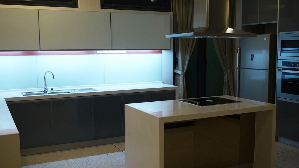 Modern, Landed, Kitchen, 7 Jalan Pelata, Interior Designer, Minterior Project Sdn Bhd, Sink