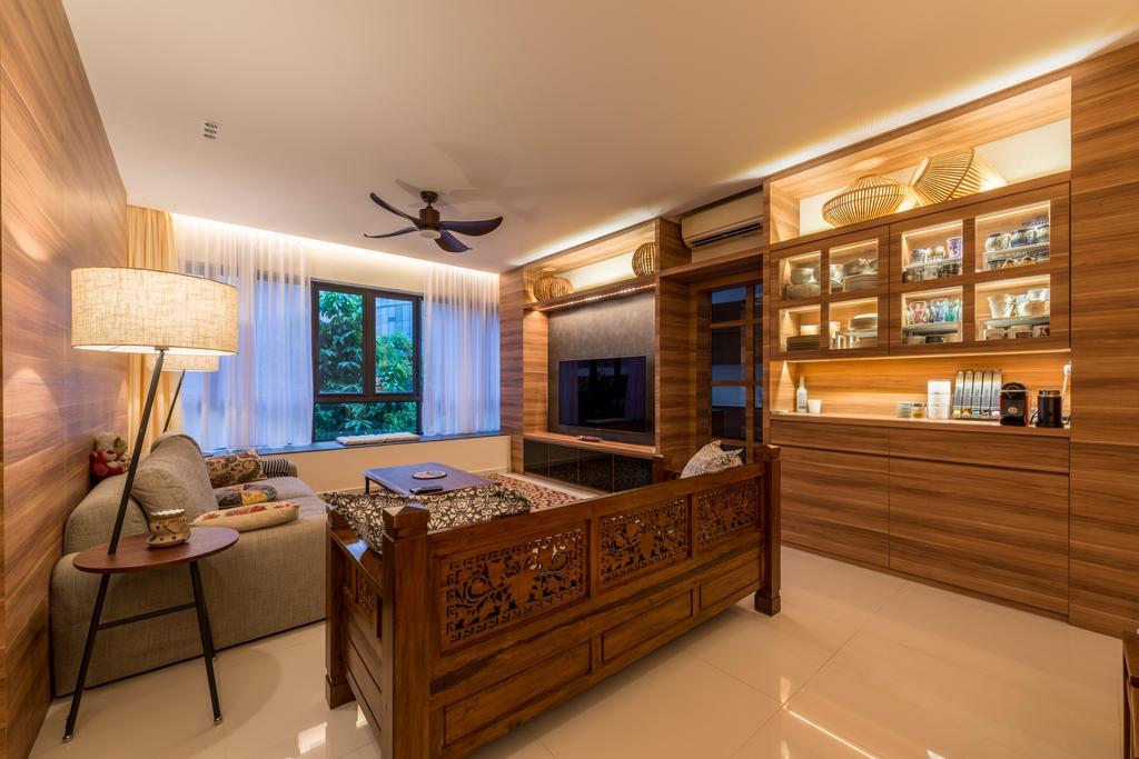 Contemporary, Condo, Living Room, Interlace, Interior Designer, Project Guru, Chair, Furniture, Indoors, Interior Design