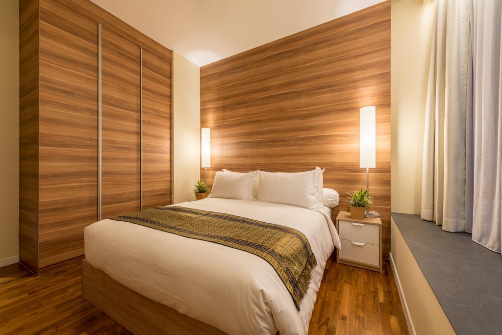 Contemporary, Condo, Bedroom, Interlace, Interior Designer, Project Guru, Bed, Furniture, Hardwood, Wood, Indoors, Interior Design, Room