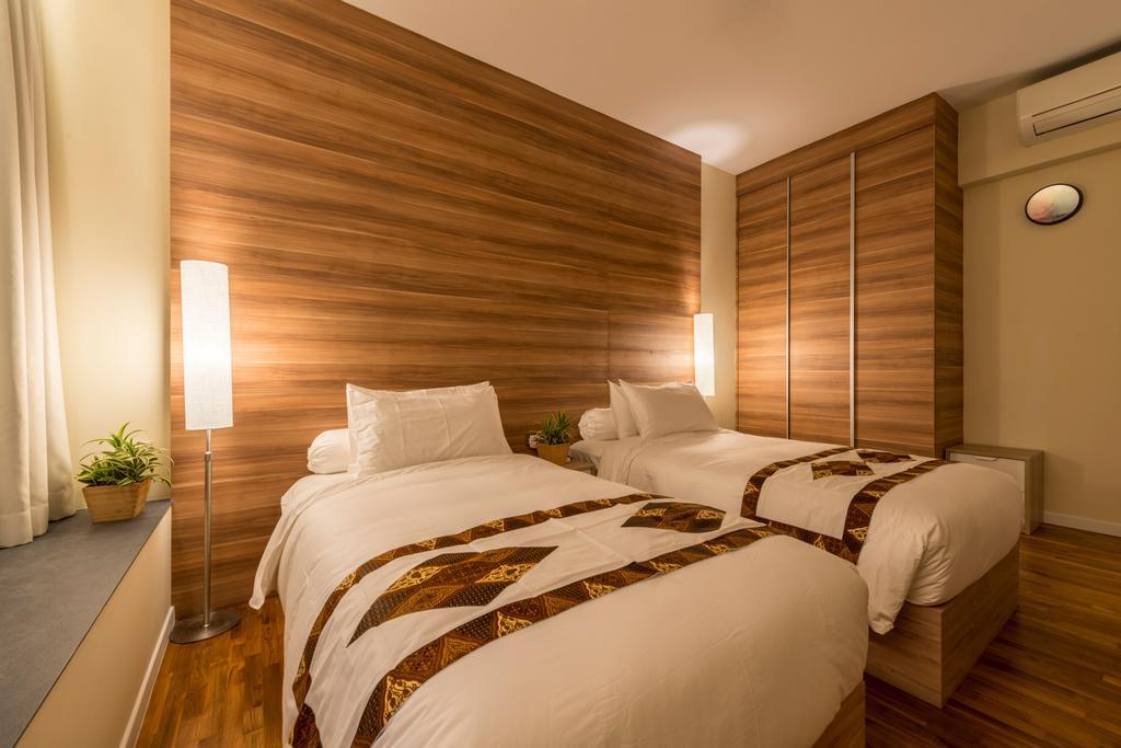 Contemporary, Condo, Bedroom, Interlace, Interior Designer, Project Guru, Bed, Furniture, Flooring