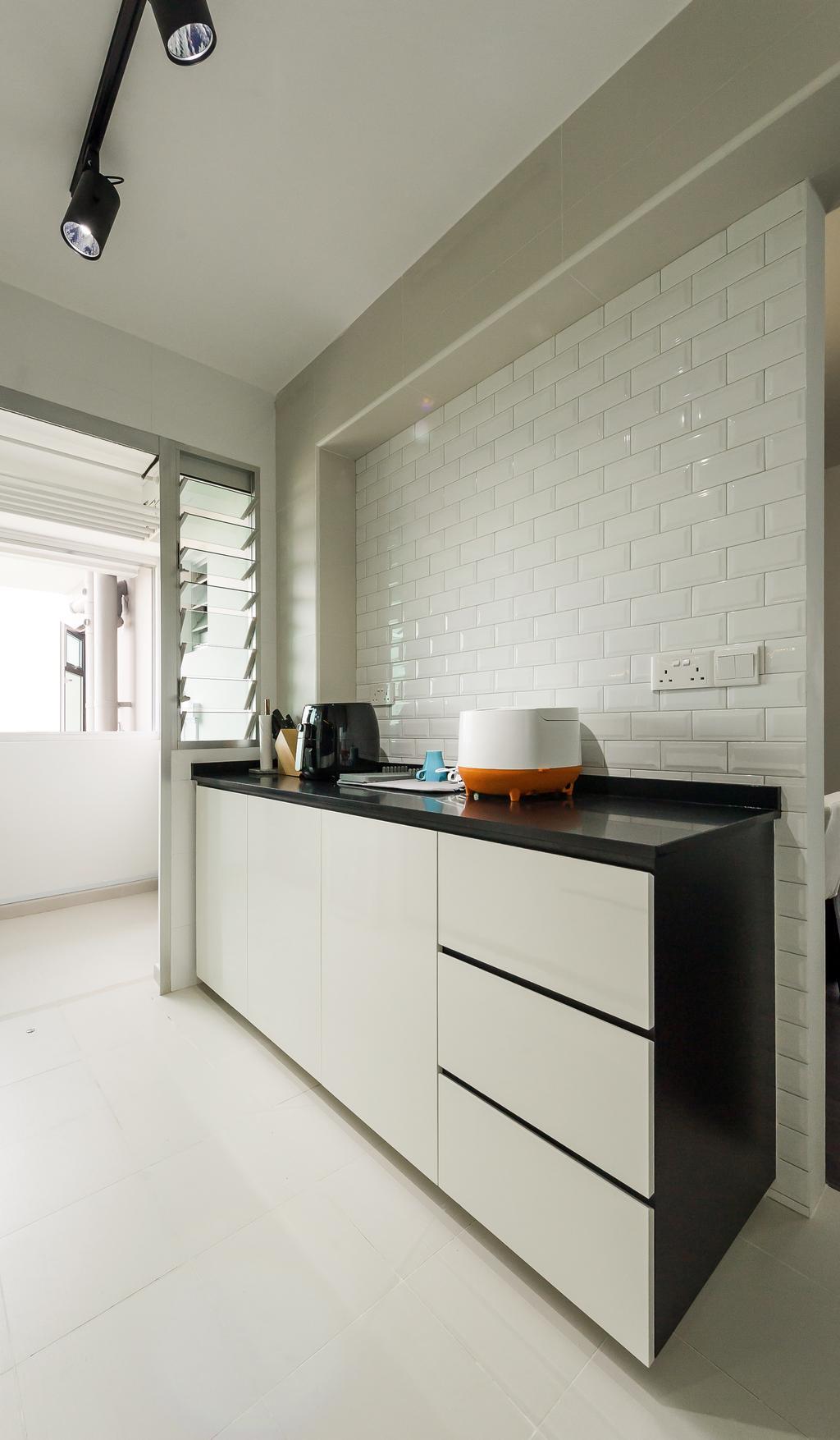 Modern, HDB, Kitchen, Toa Payoh (Block 130B), Interior Designer, ELPIS Interior Design, Scandinavian