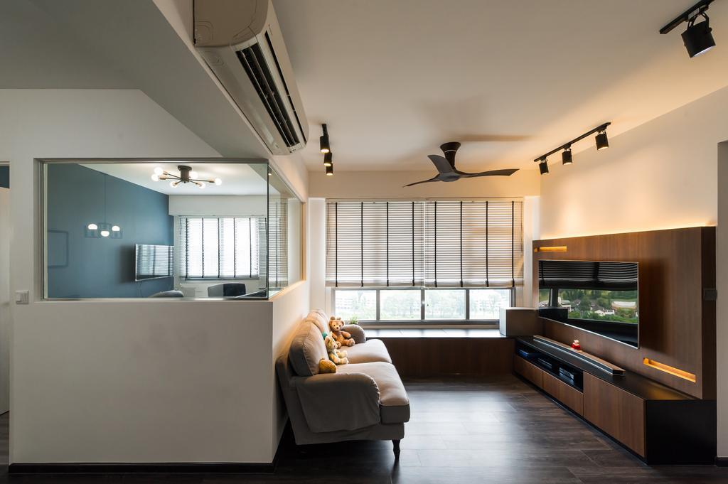 Modern, HDB, Living Room, Toa Payoh (Block 130B), Interior Designer, ELPIS Interior Design, Scandinavian, Chair, Furniture, Indoors, Interior Design