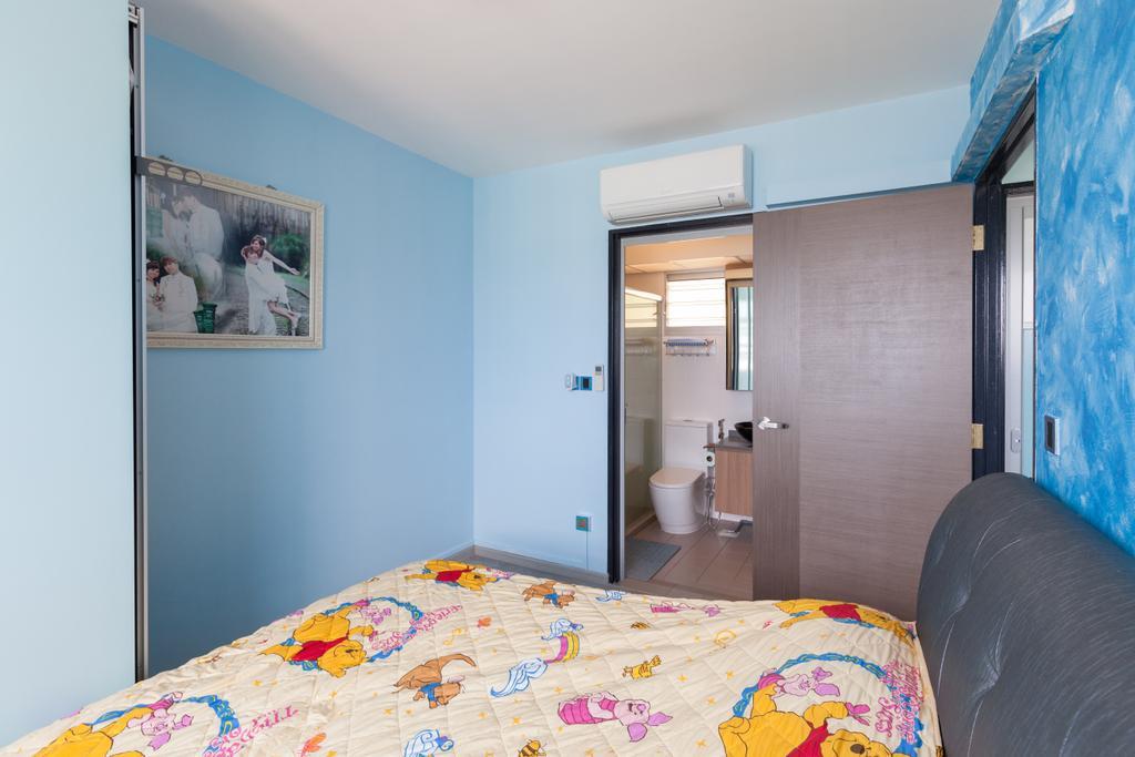 Modern, HDB, Bedroom, Clementi Avenue 4, Interior Designer, Ascenders Design Studio, Scandinavian