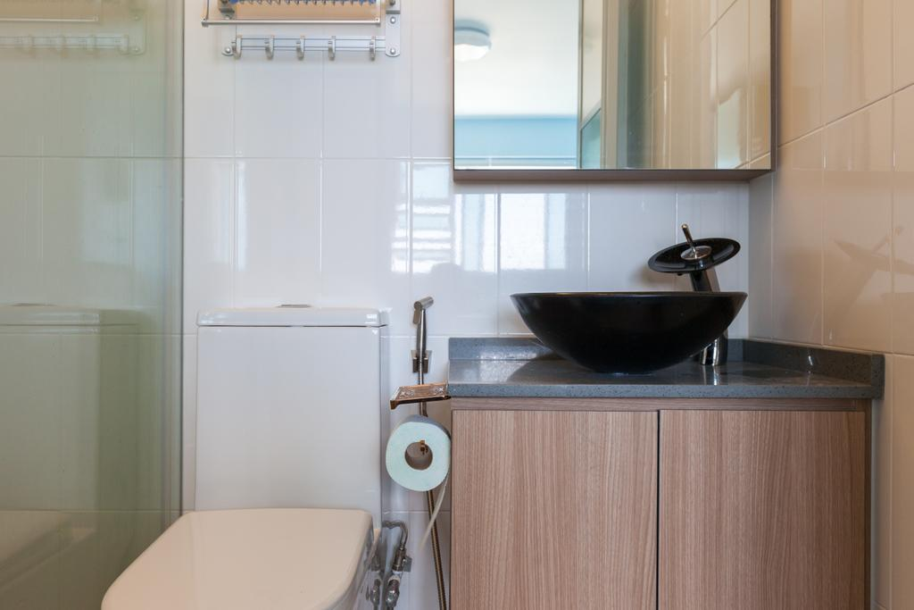 Modern, HDB, Bathroom, Clementi Avenue 4, Interior Designer, Ascenders Design Studio, Scandinavian