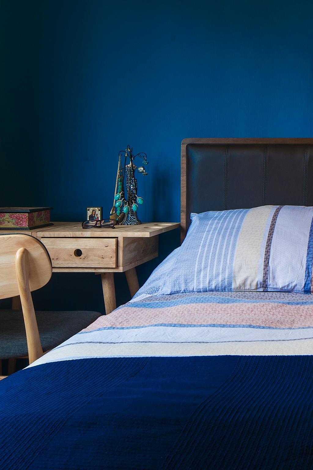 Modern, HDB, Bedroom, Bedok Reservoir (Block 766), Interior Designer, Cozy Ideas Interior Design, Scandinavian, Bed, Furniture