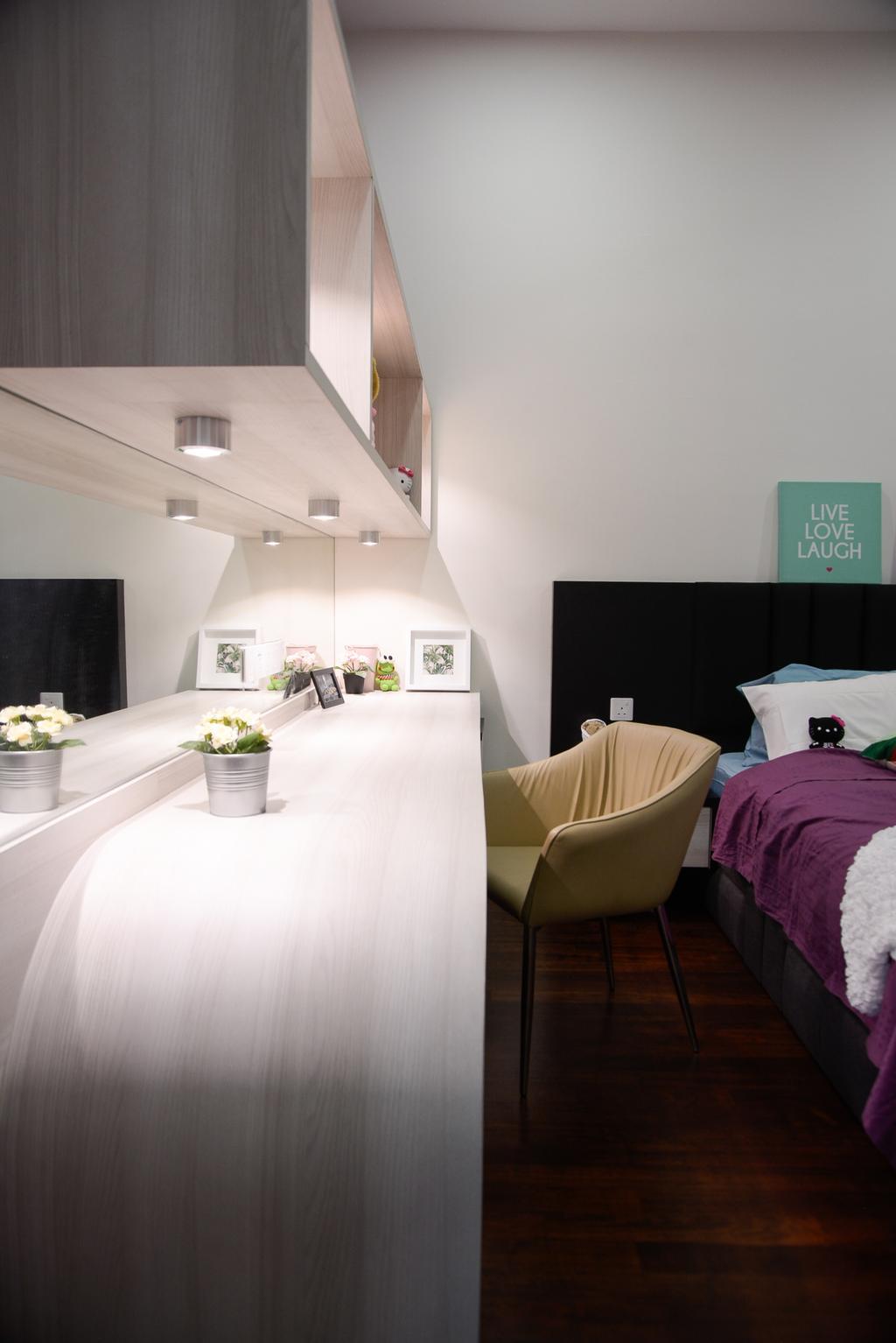 Modern, Landed, Dolomite Templer, Rawang, Interior Designer, Zyon Studio Sdn. Bhd., Eclectic, Transitional, Chair, Furniture