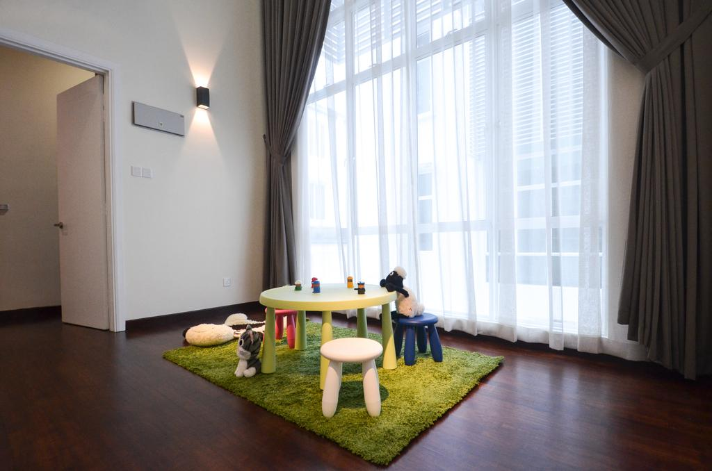 Modern, Landed, Dolomite Templer, Rawang, Interior Designer, Zyon Studio Sdn. Bhd., Eclectic, Transitional, Dining Room, Indoors, Interior Design, Room, Apartment, Building, Housing, Loft, Chair, Furniture