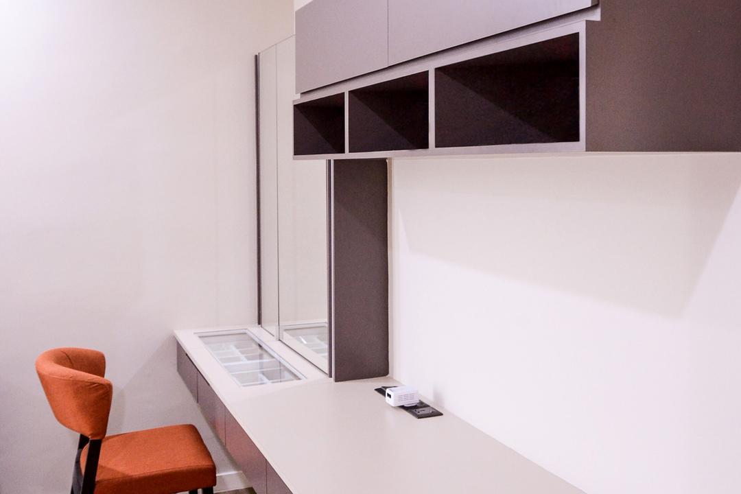 Damansara Foresta, Interior+ Design Sdn. Bhd., Minimalistic, Modern, Landed, Chair, Furniture, Collage, Poster