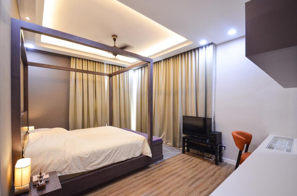 Minimalistic, Landed, Damansara Foresta, Interior Designer, Interior+ Design Sdn. Bhd., Modern, Bed, Furniture