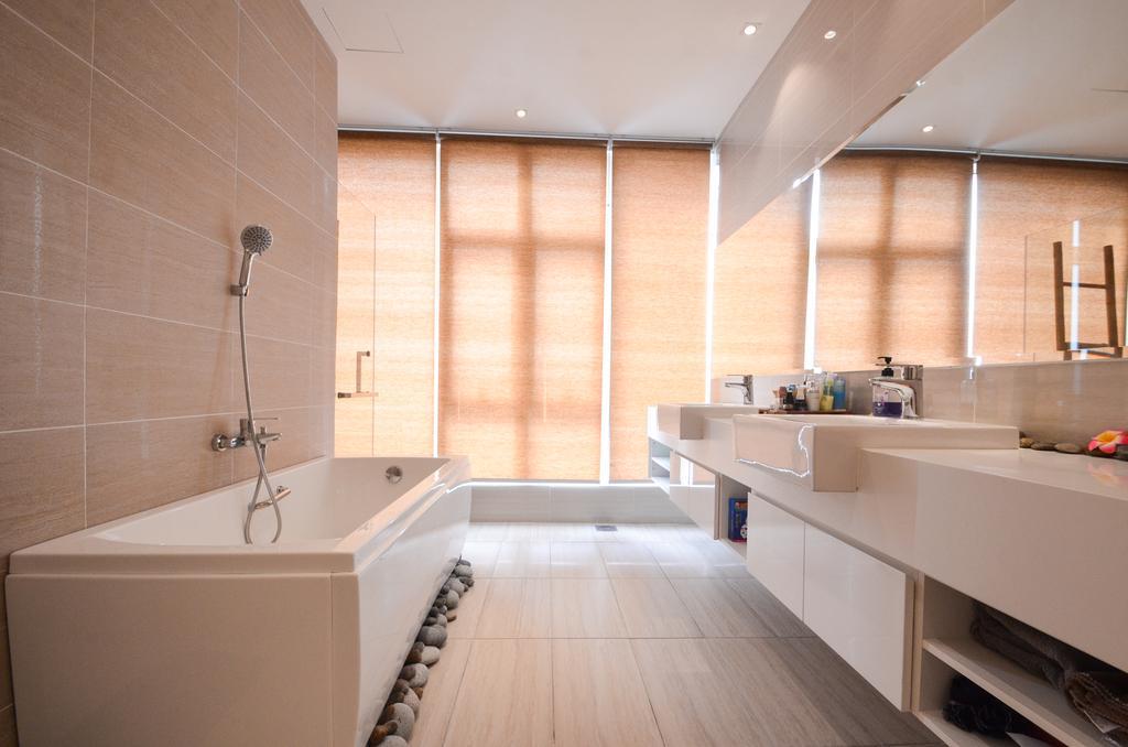 Minimalistic, Landed, Damansara Foresta, Interior Designer, Interior+ Design Sdn. Bhd., Modern, Indoors, Interior Design, Bathroom, Room