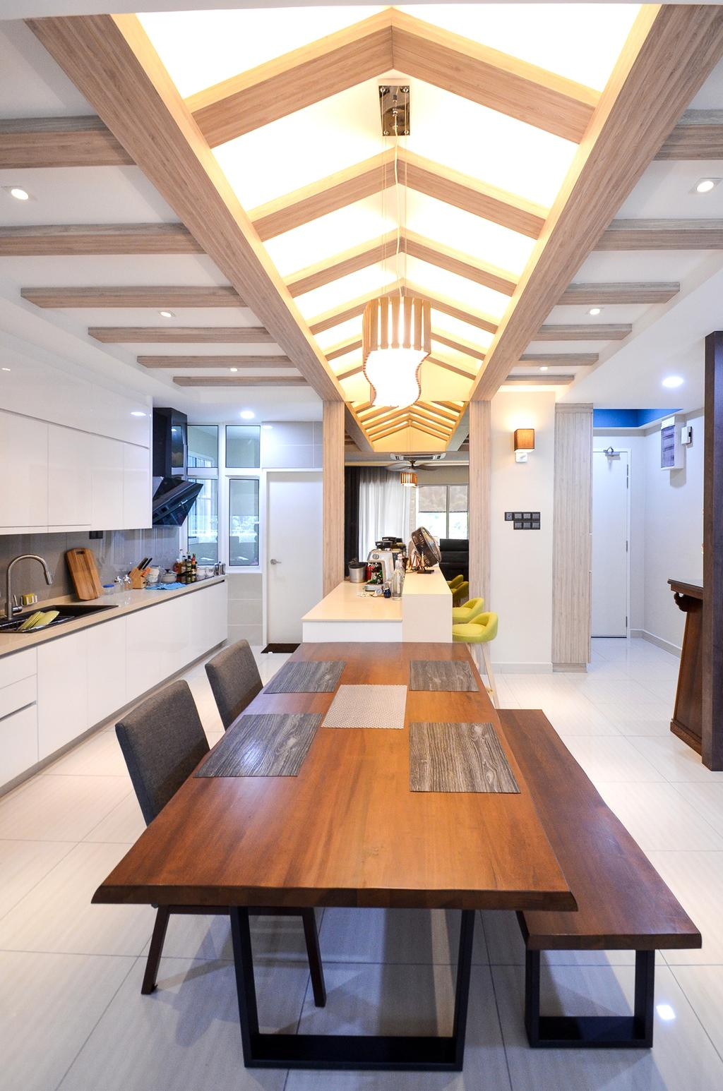 Minimalistic, Landed, Damansara Foresta, Interior Designer, Interior+ Design Sdn. Bhd., Modern, Flooring, Carpet, Home Decor, Arch, Arched, Architecture, Building, Vault Ceiling, Indoors, Interior Design