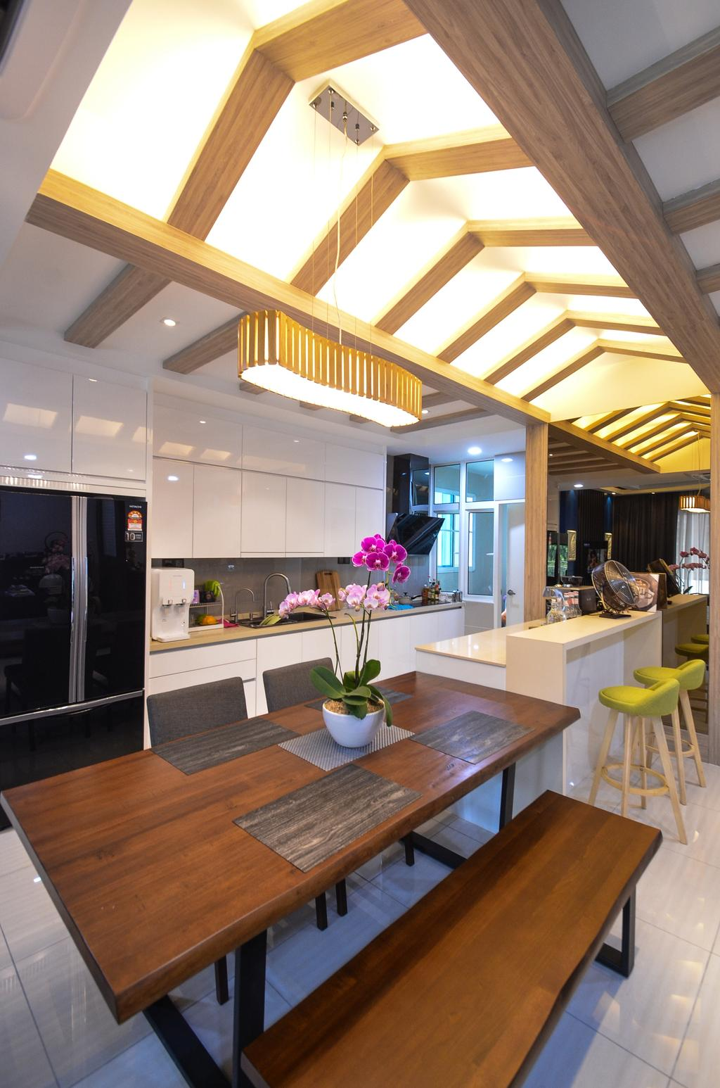 Minimalistic, Landed, Damansara Foresta, Interior Designer, Interior+ Design Sdn. Bhd., Modern, Flora, Jar, Plant, Potted Plant, Pottery, Vase