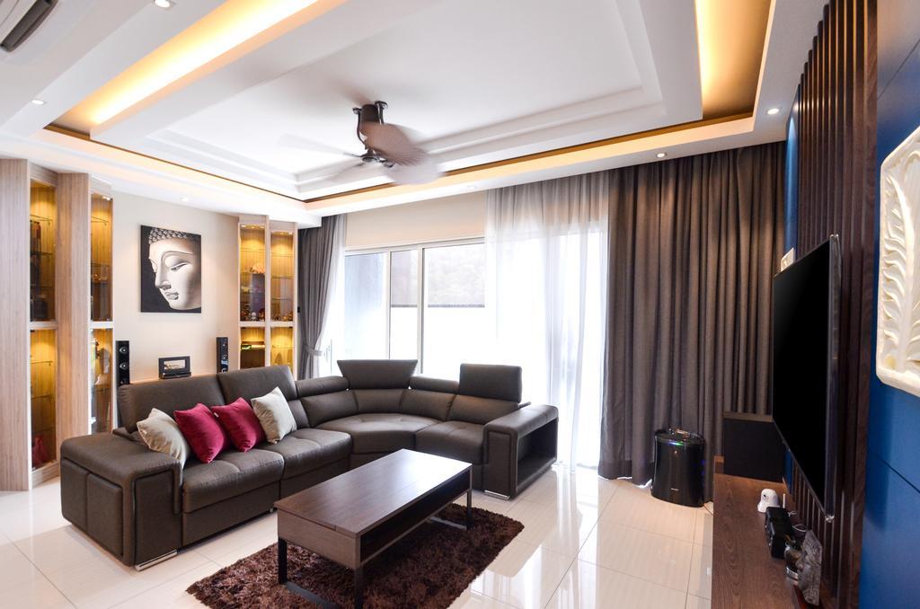 Minimalistic, Landed, Damansara Foresta, Interior Designer, Interior+ Design Sdn. Bhd., Modern, Furniture, Indoors, Room, Couch