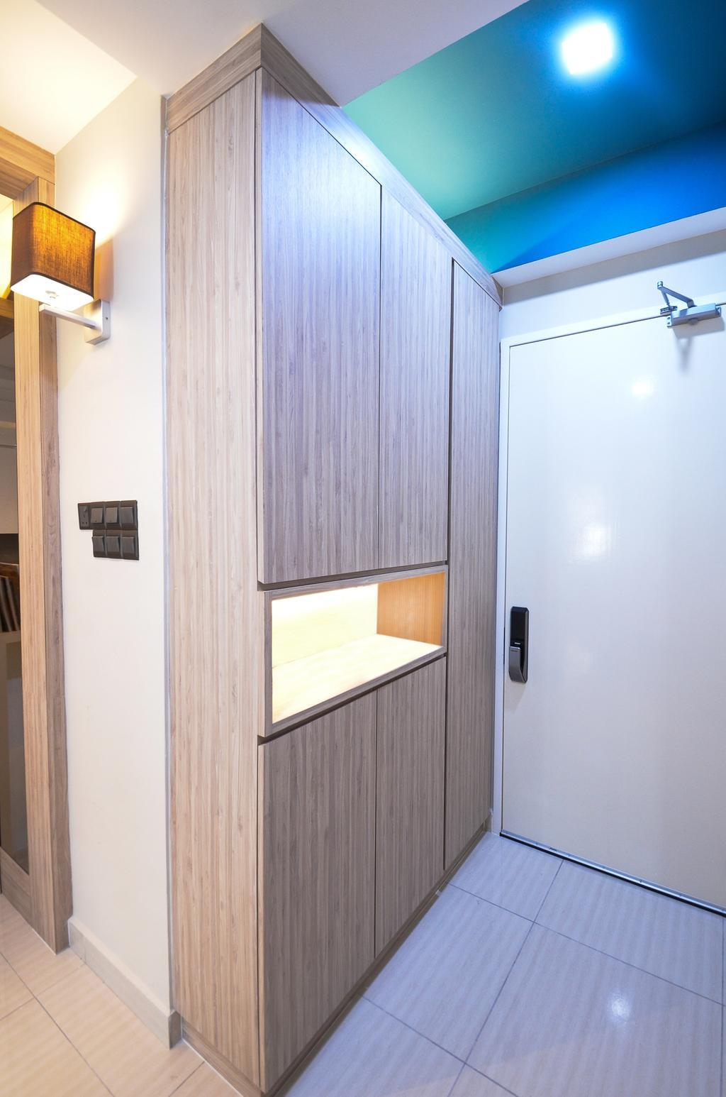 Minimalistic, Landed, Damansara Foresta, Interior Designer, Interior+ Design Sdn. Bhd., Modern, Door, Sliding Door