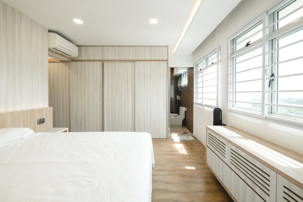 Minimalistic, HDB, Bedroom, Bukit Batok (Block 622), Interior Designer, Lemonfridge Studio, Indoors, Interior Design