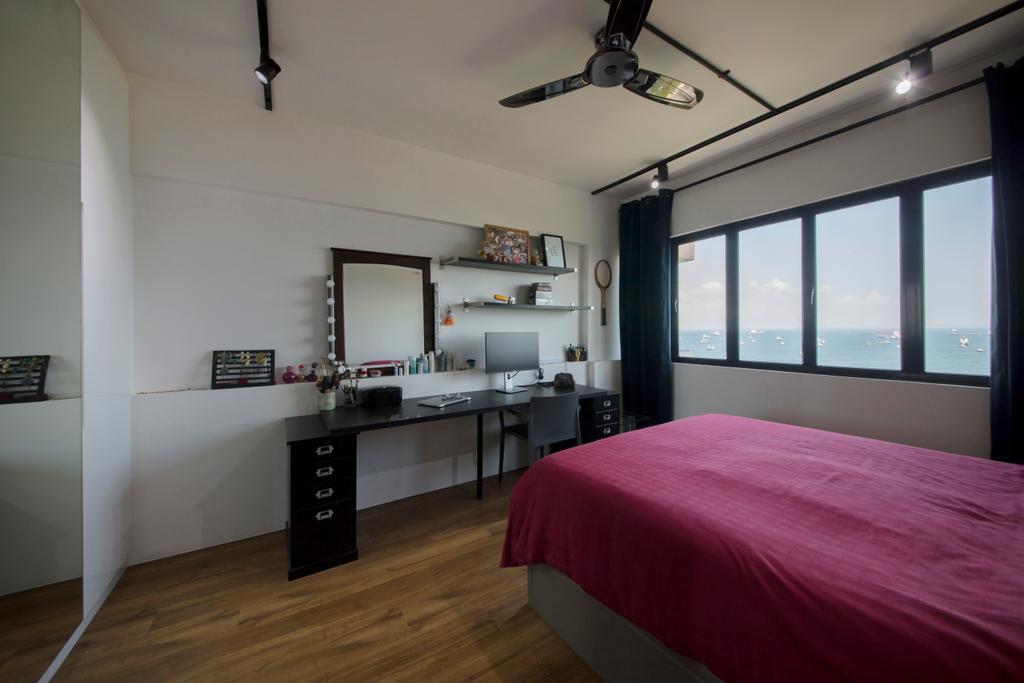 Contemporary, Condo, Bedroom, Laguna Park, Interior Designer, Metamorph Design, Bed, Furniture, Indoors, Interior Design, Room, HDB, Building, Housing, Loft, Flooring