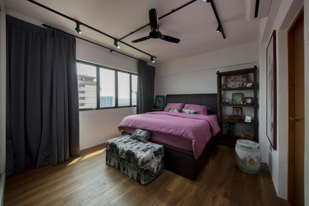 Contemporary, Condo, Bedroom, Laguna Park, Interior Designer, Metamorph Design, Indoors, Interior Design, Room, Bed, Furniture