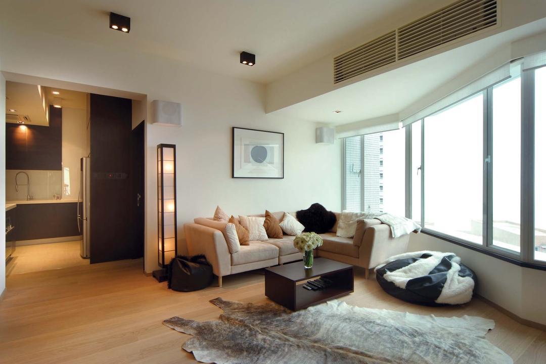 雅鑾閣, Krispace Design Consultancy, 摩登, 客廳, 私家樓, Couch, Furniture, Indoors, Room, Appliance, Electrical Device, Fridge, Refrigerator