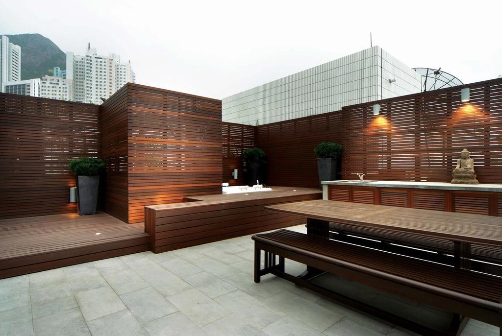 摩登, 私家樓, 花園, 雅鑾閣, 室內設計師, Krispace Design Consultancy, Coffee Table, Furniture, Table, Bench
