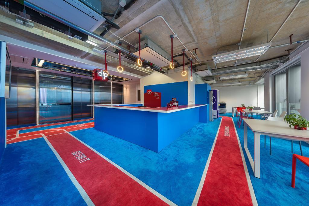 HK DIP Program, 商用, 室內設計師, Krispace Design Consultancy, 摩登, 復古