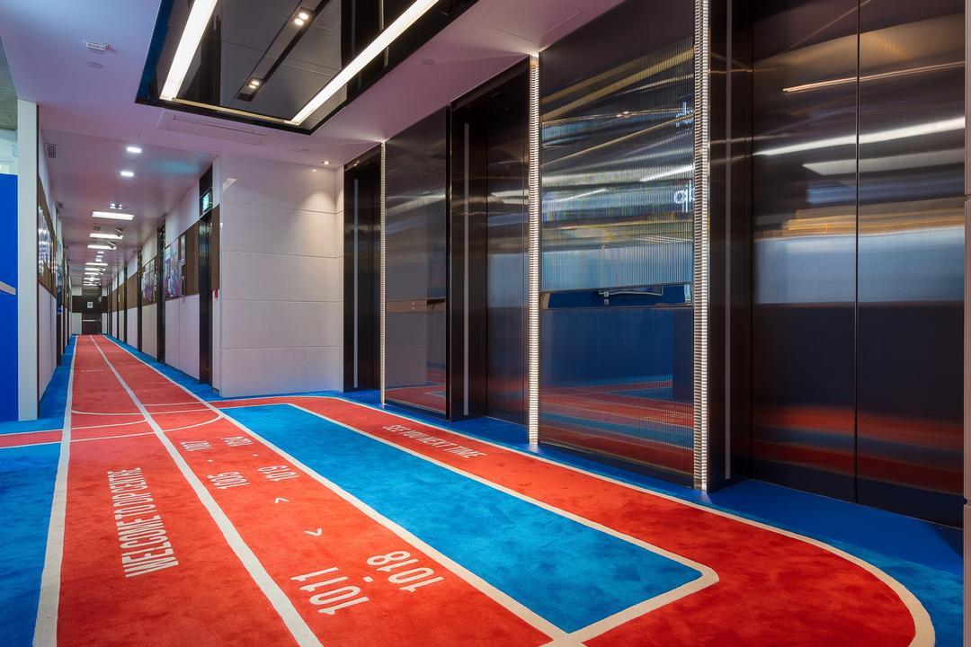 HK DIP Program, Krispace Design Consultancy, 摩登, 復古, 商用, Corridor