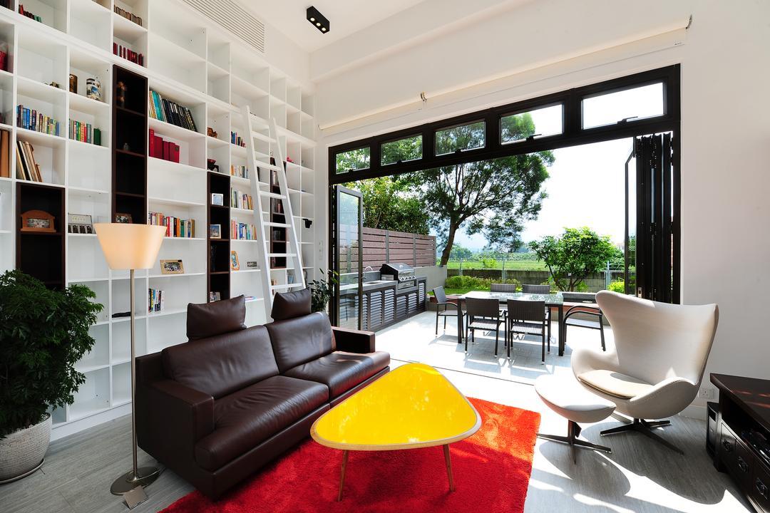 加州花園 Living Room Interior Design 1