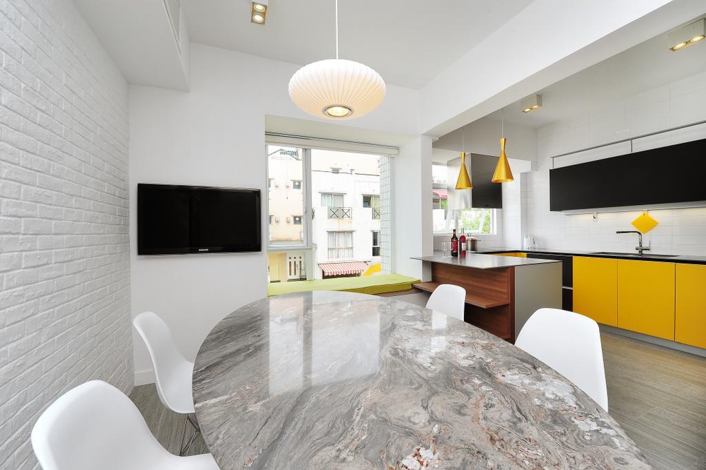 當代, 獨立屋, 飯廳, 加州花園, 室內設計師, Krispace Design Consultancy, 隨性, 摩登