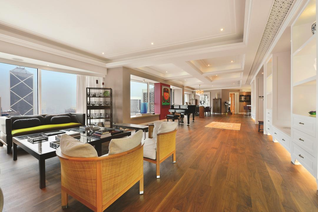 富匯豪庭, Krispace Design Consultancy, 當代, 私家樓, Plywood, Wood, Flooring, 公屋/居屋, Building, Housing, Indoors