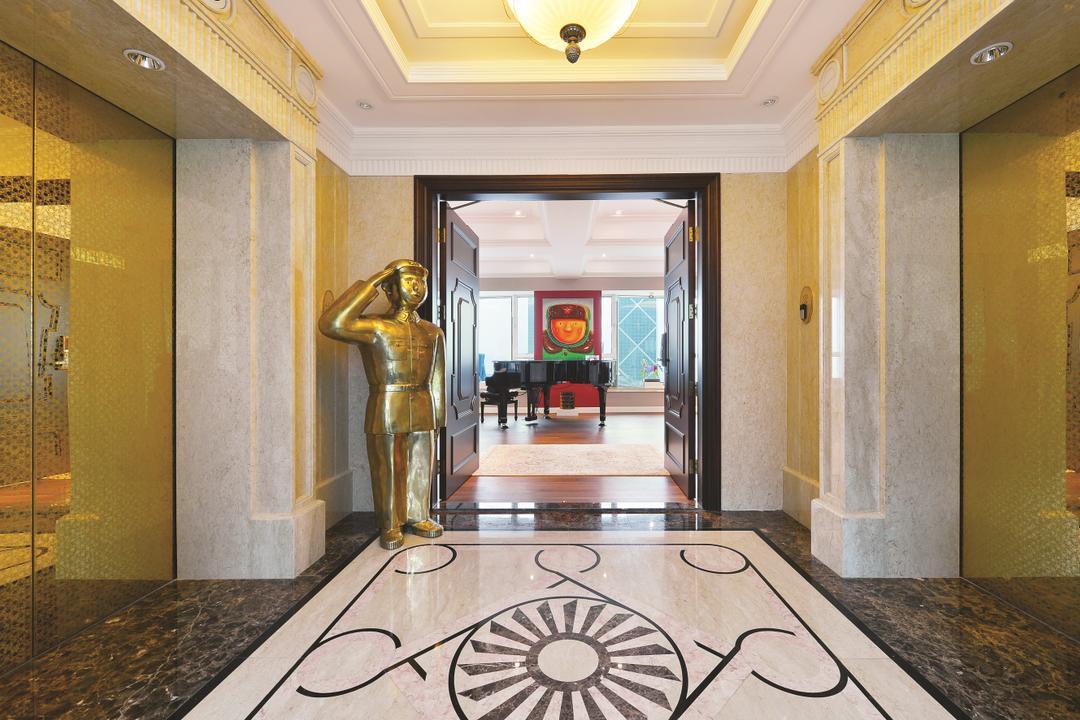 富匯豪庭, Krispace Design Consultancy, 當代, 客廳, 私家樓, Flooring, Ancient Egypt