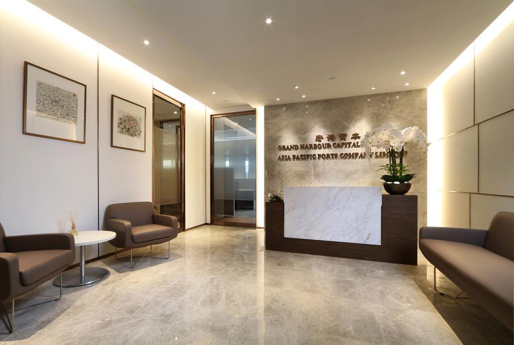 Asia Pacific Port, 商用, 室內設計師, Krispace Design Consultancy, 摩登, Couch, Furniture, Flooring, Indoors, Interior Design
