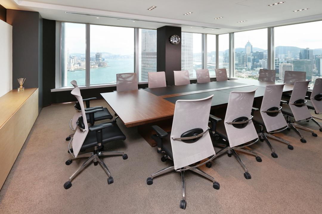 Asia Pacific Port, Krispace Design Consultancy, 摩登, 商用, Chair, Furniture, Conference Room, Indoors, Meeting Room, Room