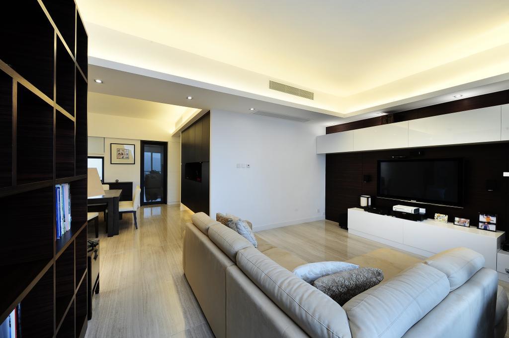 摩登, 私家樓, 客廳, 嘉雲台, 室內設計師, Krispace Design Consultancy, Indoors, Interior Design, Lighting