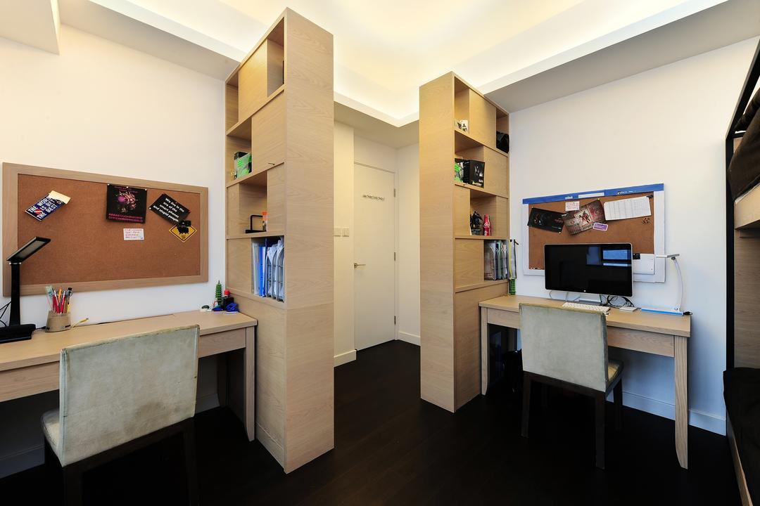 嘉雲台, Krispace Design Consultancy, 摩登, 睡房, 私家樓, Plywood, Wood, Appliance, Electrical Device, Oven, Flooring, Sink, Desk, Furniture, Table