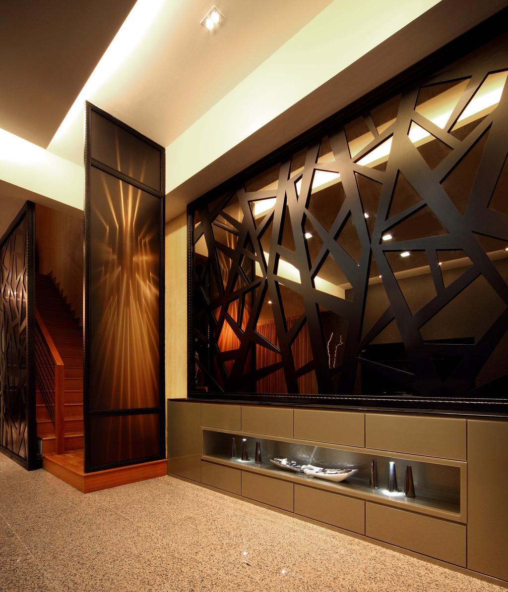 Modern, Landed, Living Room, Mimosa Drive, Interior Designer, I-Bridge Design