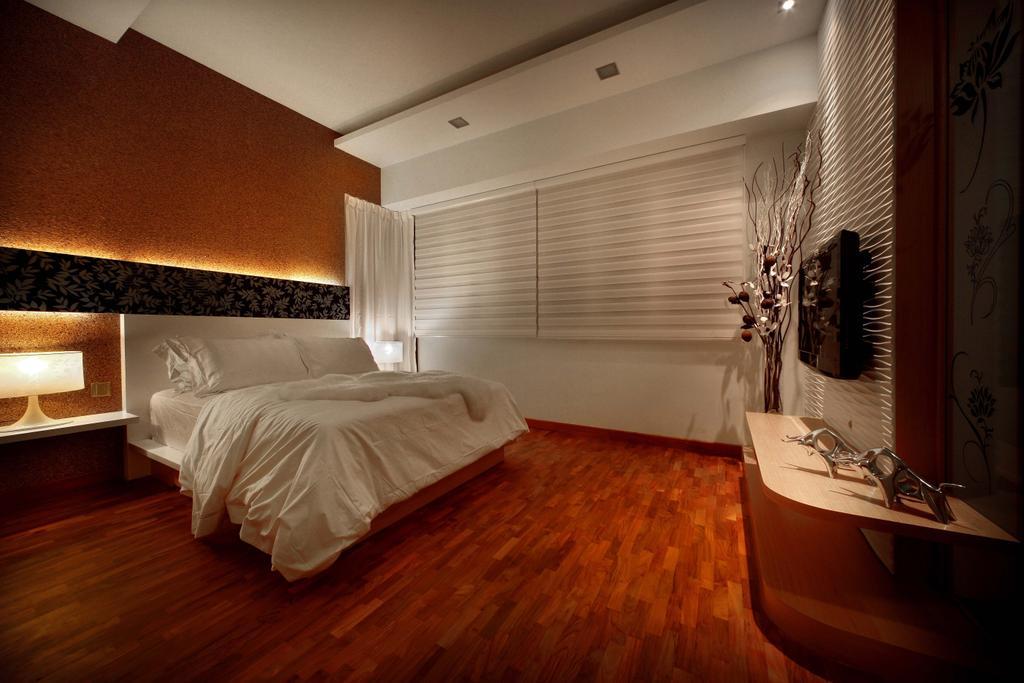 Modern, Landed, Bedroom, Mimosa Drive, Interior Designer, I-Bridge Design, Bathroom, Indoors, Interior Design, Room