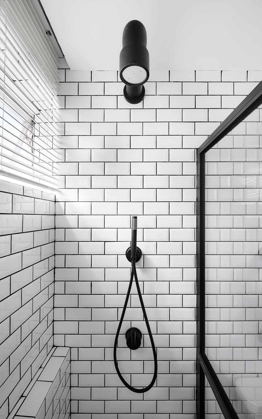 Industrial, Landed, Bathroom, Watten Estate (Townhouse), Interior Designer, IN-EXPAT, Minimalistic