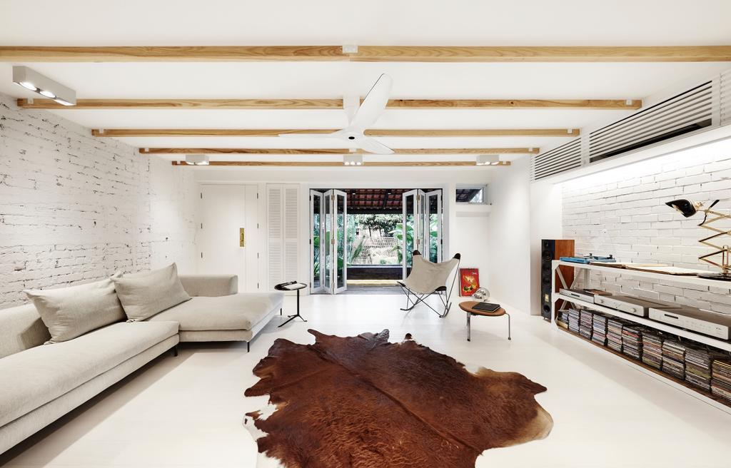 Industrial, Landed, Living Room, Watten Estate (Townhouse), Interior Designer, IN-EXPAT, Minimalistic, Indoors, Interior Design