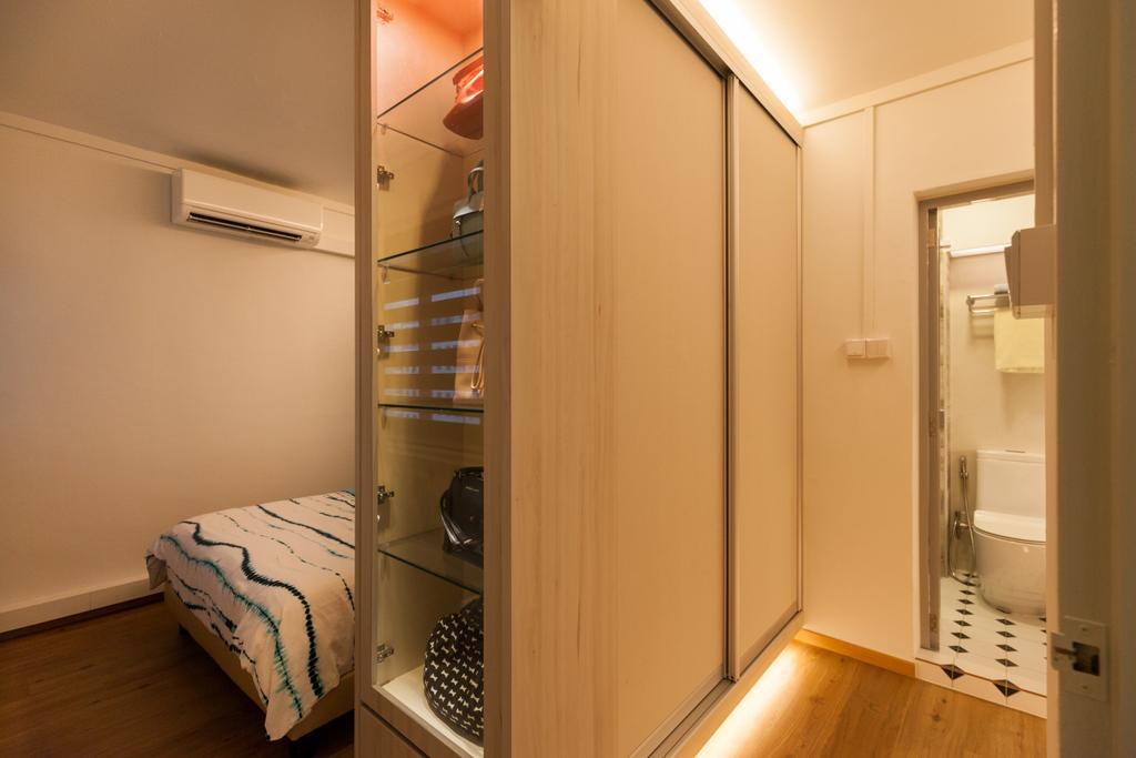 Scandinavian, HDB, Bedroom, Jurong West Street 65, Interior Designer, Starry Homestead, Indoors, Interior Design, Room, Building, Housing