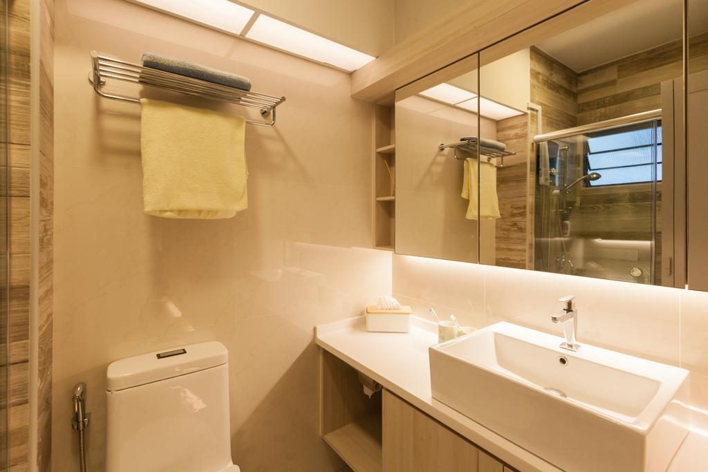Scandinavian, HDB, Bathroom, Jurong West Street 65, Interior Designer, Starry Homestead, Indoors, Interior Design, Room