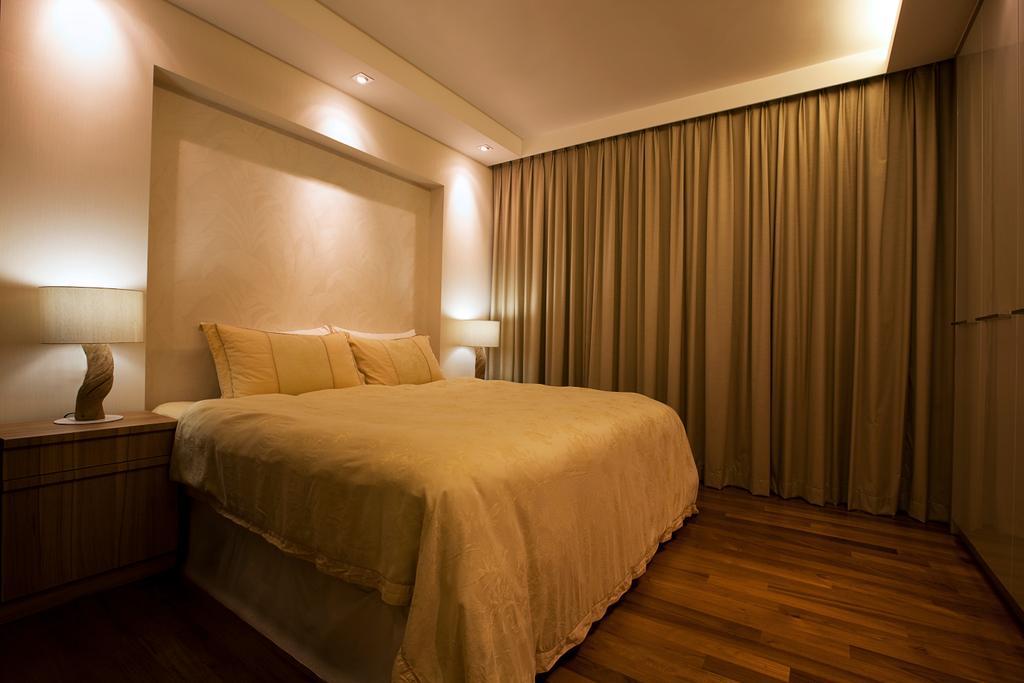 Modern, Landed, Bedroom, Kembangan, Interior Designer, Jubilee Interior, Indoors, Room, Bed, Furniture, Interior Design