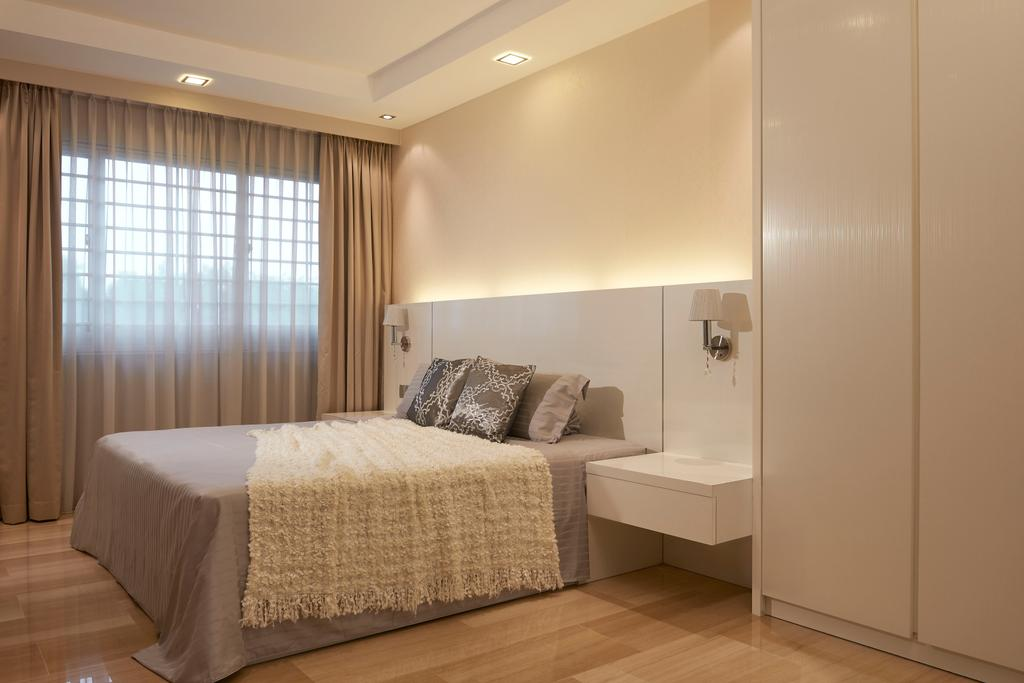Minimalistic, HDB, Bedroom, Pasir Ris Drive, Interior Designer, Jubilee Interior, Modern, Scandinavian