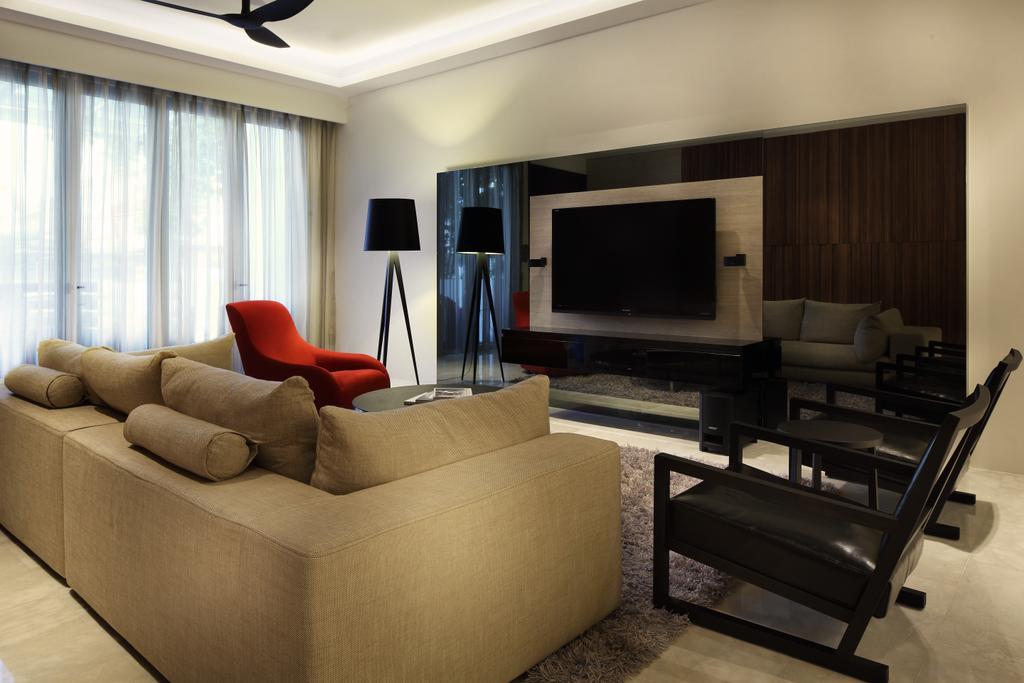 HDB, Living Room, Serangoon, Interior Designer, Jubilee Interior, Couch, Furniture, Chair, Electronics, Entertainment Center, Home Theater