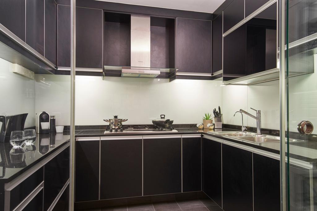Modern, HDB, Kitchen, Punggol Central, Interior Designer, Jubilee Interior, Indoors, Interior Design, Room