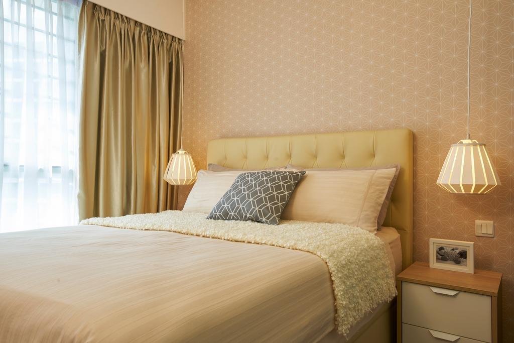 Vintage, HDB, Bedroom, Punggol Drive, Interior Designer, Jubilee Interior, Indoors, Interior Design, Room