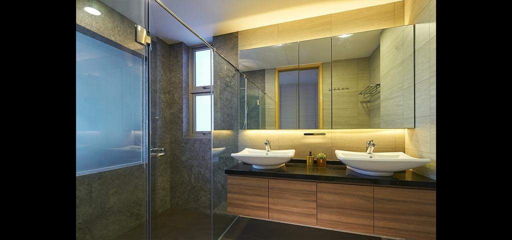 Modern, Condo, Bathroom, Cairnhill Crest, Interior Designer, Jubilee Interior, Indoors, Interior Design, Room