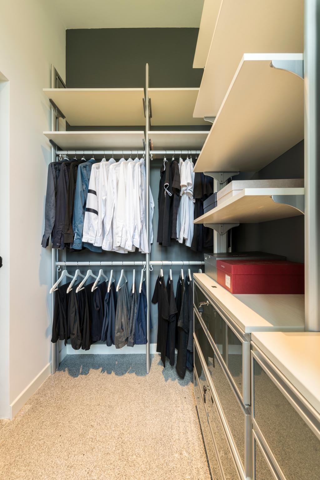 Modern, Condo, Bedroom, The Hillier, Interior Designer, Posh Living Interior Design, Contemporary, Closet