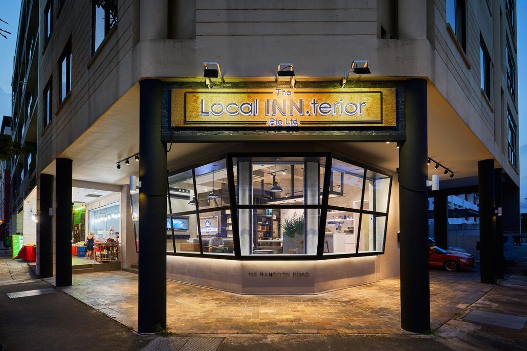 Local Inn.terior Showroom, The Local INN.terior 新家室, Contemporary, Modern, Commercial, Diner, Food, Meal, Restaurant, Door, Revolving Door