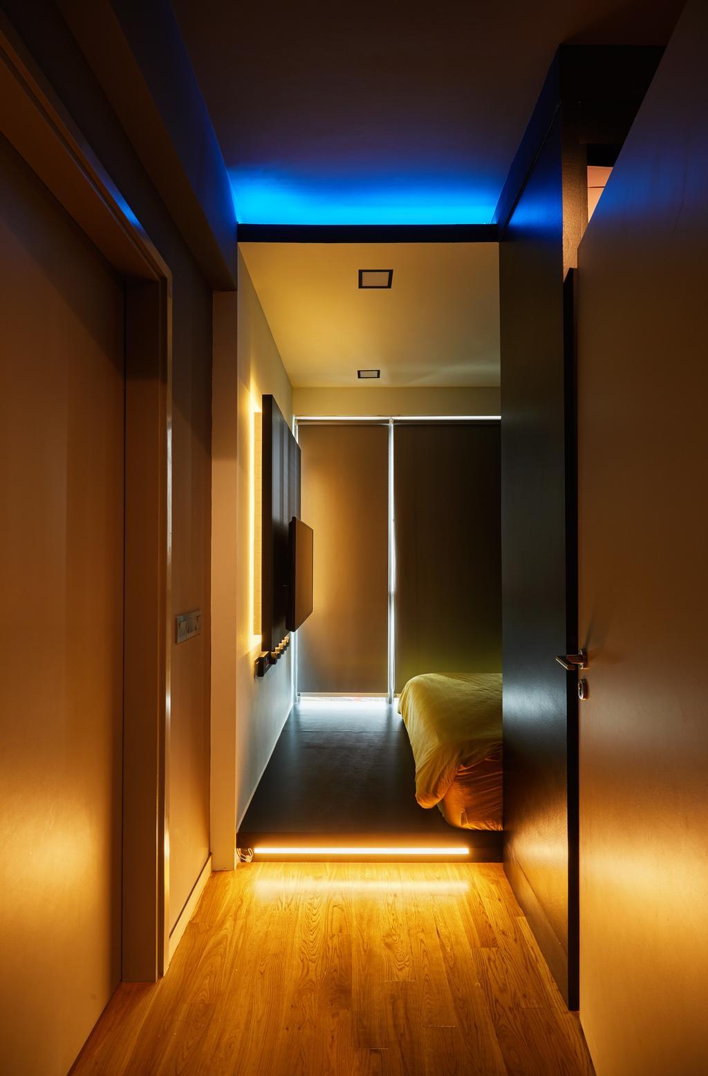 Modern, Condo, Bedroom, Riversail, Interior Designer, The Local INN.terior 新家室