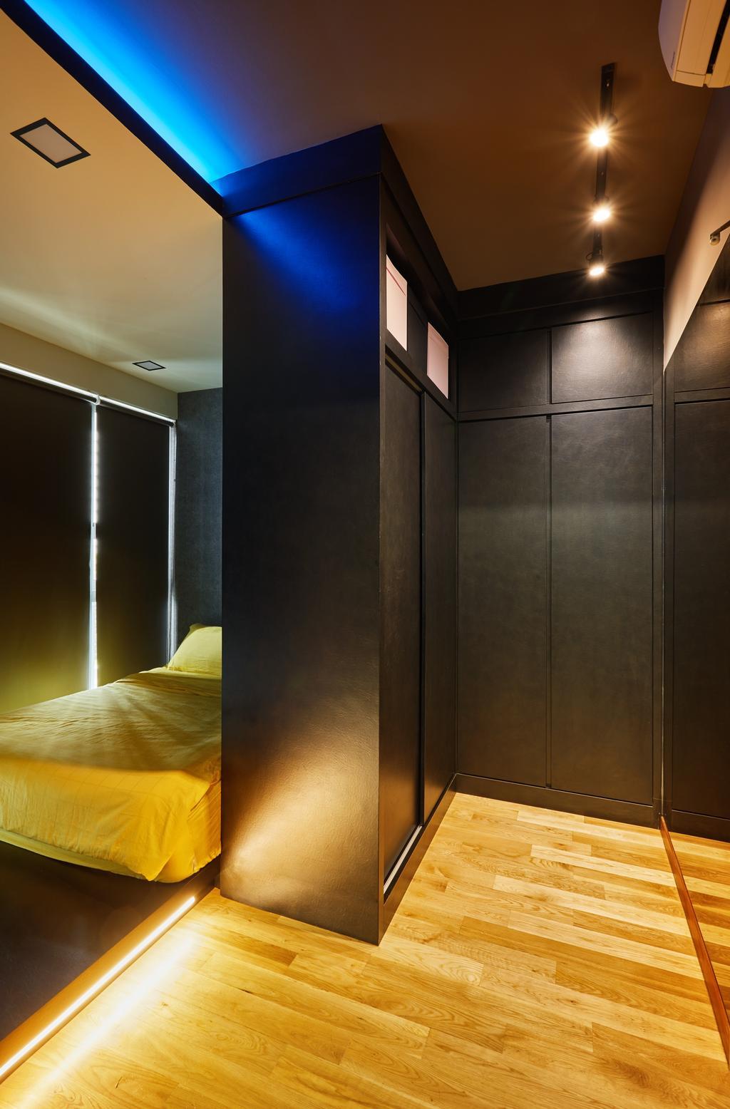 Modern, Condo, Bedroom, Riversail, Interior Designer, The Local INN.terior 新家室, Bed, Furniture