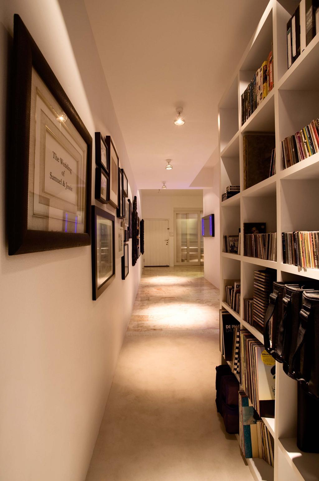 Modern, HDB, Study, Balestier, Interior Designer, Free Space Intent, Bookcase, Furniture, Shelf, Book
